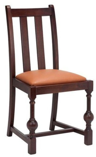 Venice Wooden Upholstered Side Chair - Tables&Tops
