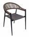 Vienna Outdoor Stacking Rattan Arm Chair - Tables&Tops