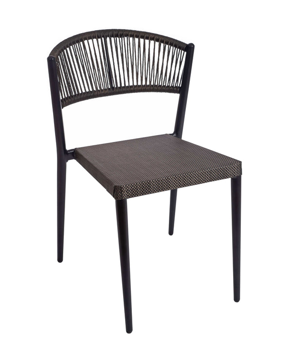 Vienna Outdoor Stacking Rattan Chair - Tables&Tops