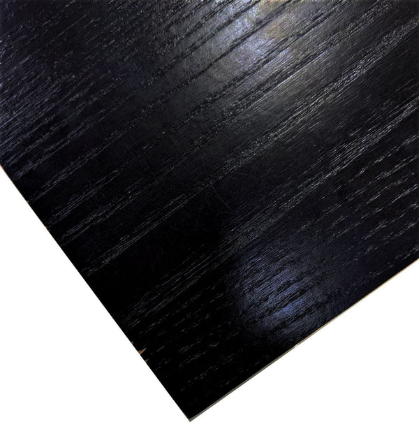 Black Ash Solid Wood 25mm Table Top - Tables&Tops