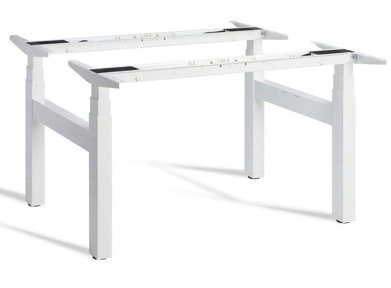 Duo Height Adjustable Office Desk Table Base - Tables&Tops