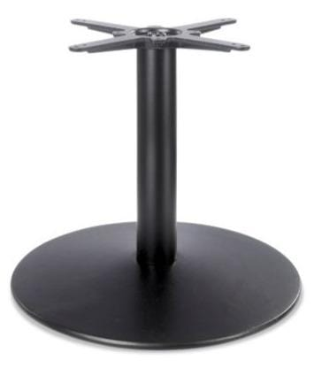 Dome Medium Round Black Cast Iron Table Base - Tables&Tops