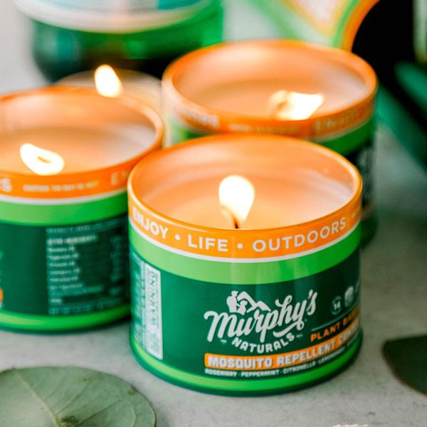 Load image into Gallery viewer, Mosquito Repellent Mini-Candle Trio Pack Murphy's Naturals