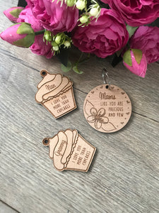 Mother's Day Keyring