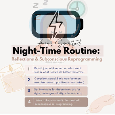 My Spiritual Night-time Routine