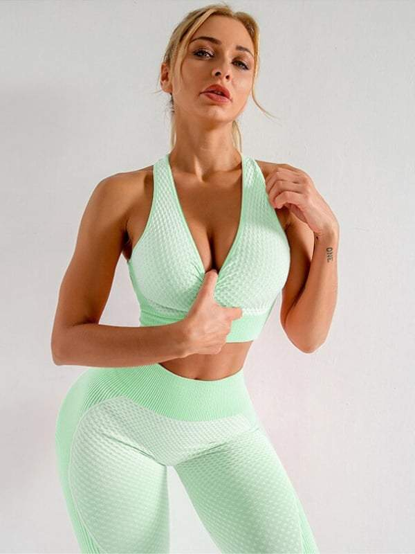 Elite Sleeveless 2 Piece Set (Limited Edition) - S / Lime - 2 Piece Set