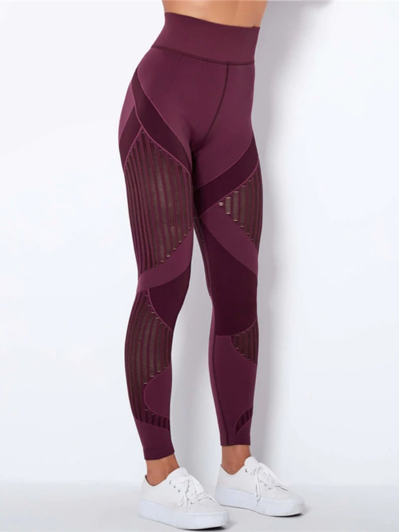 Power Leggings - Red / M - Leggings