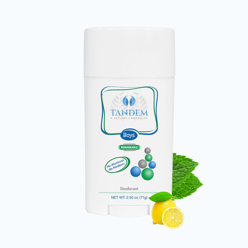 Remarkable Natural Deodorant for Boys : Tandem