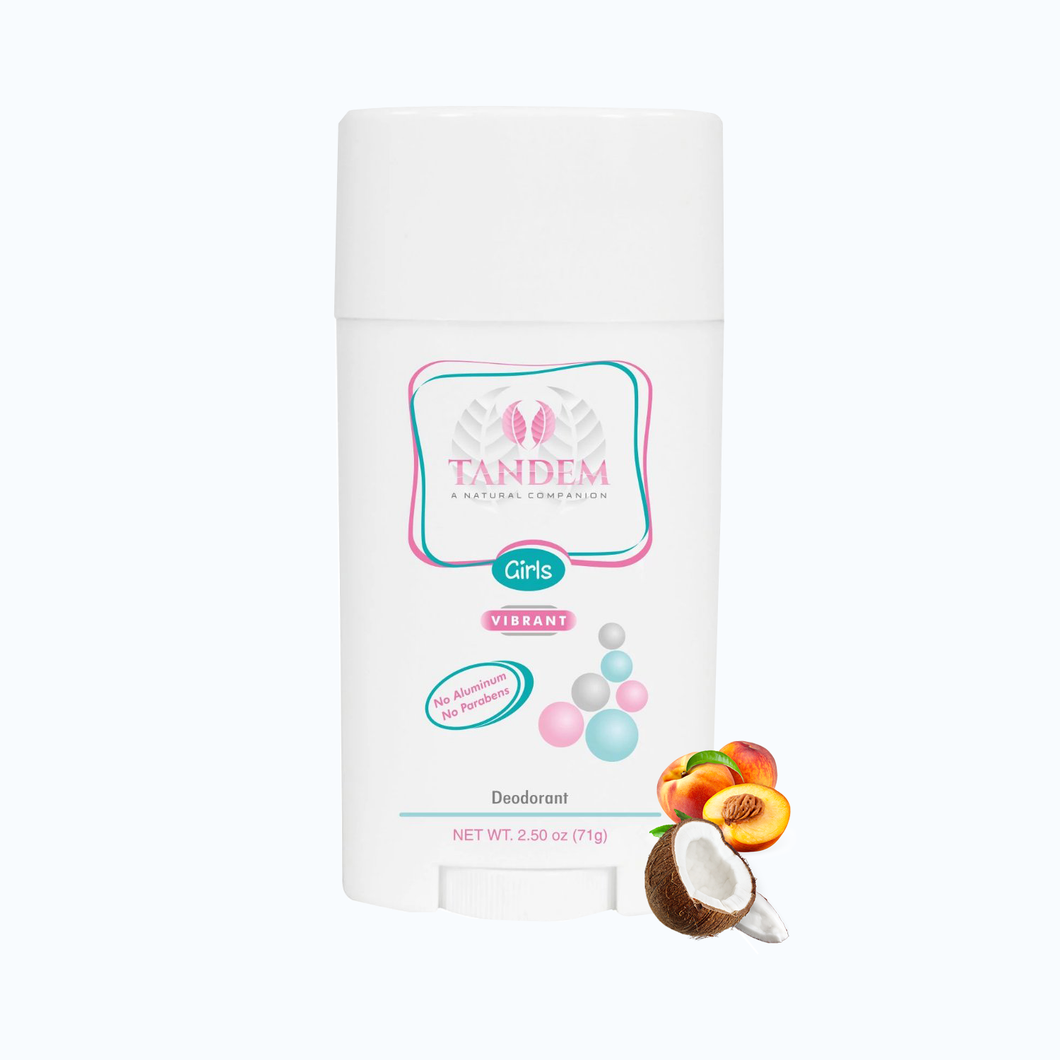 Vibrant - Natural Deodorant for Girls : Tandem