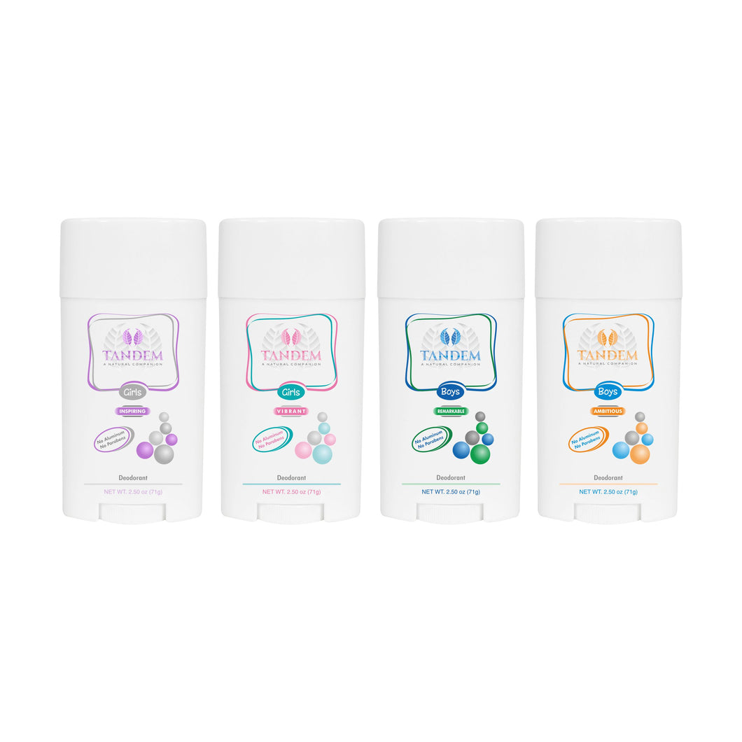 Pack of 3 Deodorants for Kids - Save 25% : Tandem