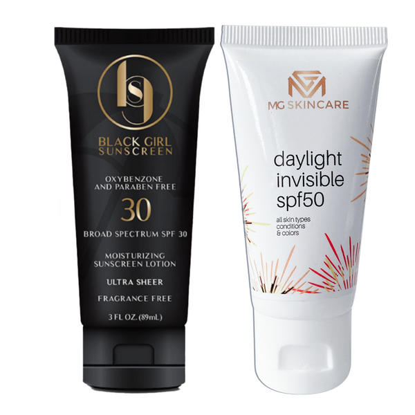 Black Girl Sunscreen  SPF 30 & Daylight Invisible SPF 50