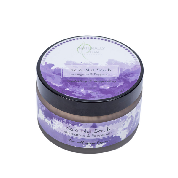 Kola Nut Scrub- Lemongrass & Peppermint