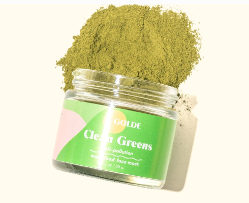 Clean Greens Superfood Face Mask