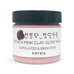 French Pink Glow Clay Mask