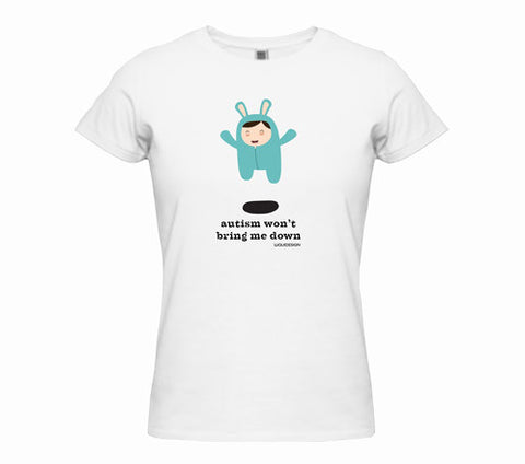 Baby Jayce Autism Won't Bring Me Down Women's T-Shirts