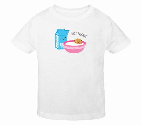 Happy Cookie Best Friends Toddler T-Shirts