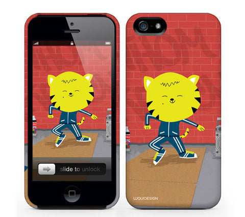 Thom Kitten Buss'It Baybee iPhone Cases by Waui Design