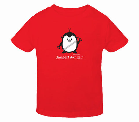 Penne the Penguin Danger! Danger! Toddler T-Shirts