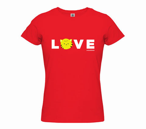 Thom Kitten All You Need Is Love Women's T-Shirts