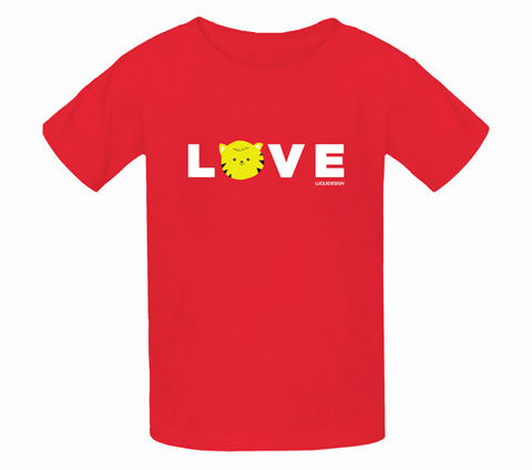 Thom Kitten All You Need Is Love Kids T-Shirts