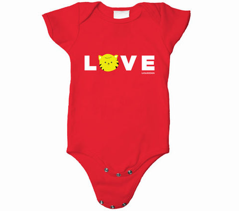 Thom Kitten All You Need Is Love Baby Onesies