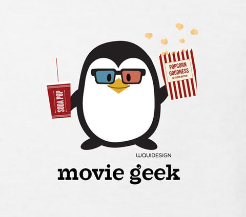 Penne the Penguin Movie Geek Toddler T-Shirts