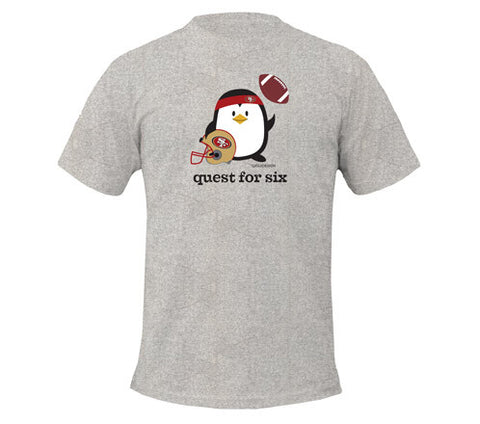 Penne the Penguin Quest For Six Men's T-Shirts