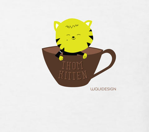Thom Kitten In A Cup Toddler T-Shirts