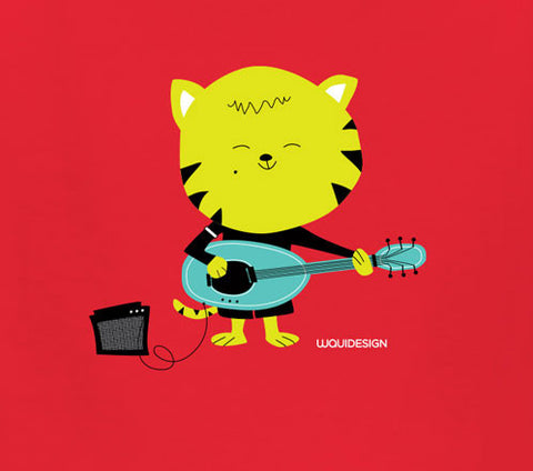 Thom Kitten Rockin' Kids T-Shirts