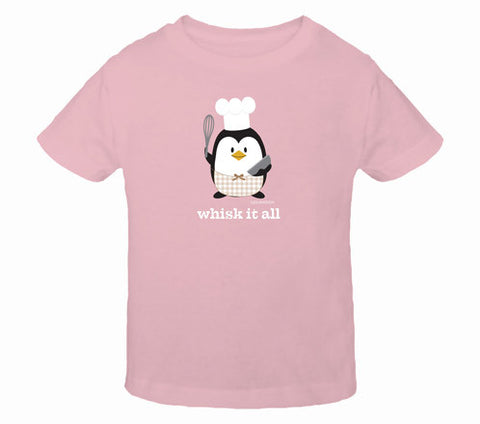 Penne the Penguin Whisk It All Toddler T-Shirts