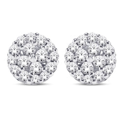 14KT-1.00CTW CARA EARRINGS