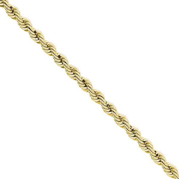 10K Gold Rope Chain 28'' 6mm 19.3g Approximated