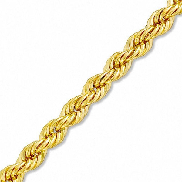10K Gold Rope Chain 30'' 10mm 29.6g Approximated