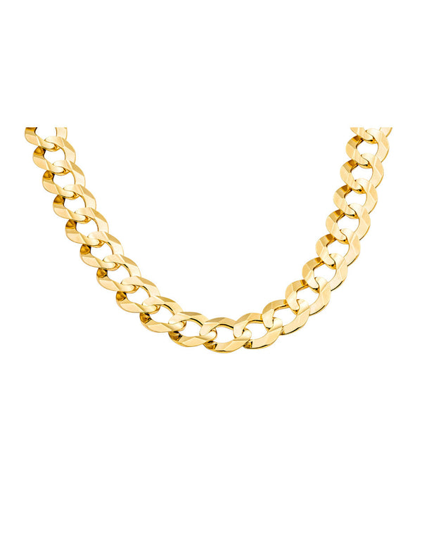 10K Gold Cuban Link Chain 28'' 9mm 39g  Approximated