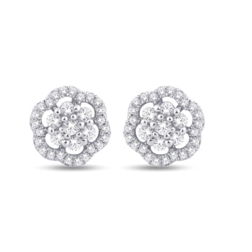 14KT-0.45CTW EARRINGS