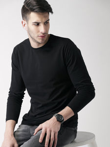 Black : White : Charcoal - Full Sleeves T-shirts Combo