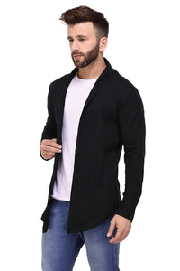 Men's Cotton Open Long Cardigan