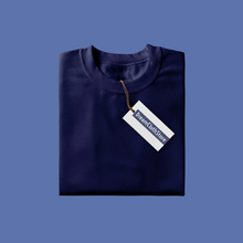 Load image into Gallery viewer, Navy Blue - Full Sleeves T-shirt