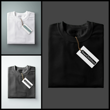 Load image into Gallery viewer, Black : White : Charcoal - Full Sleeves T-shirts Combo
