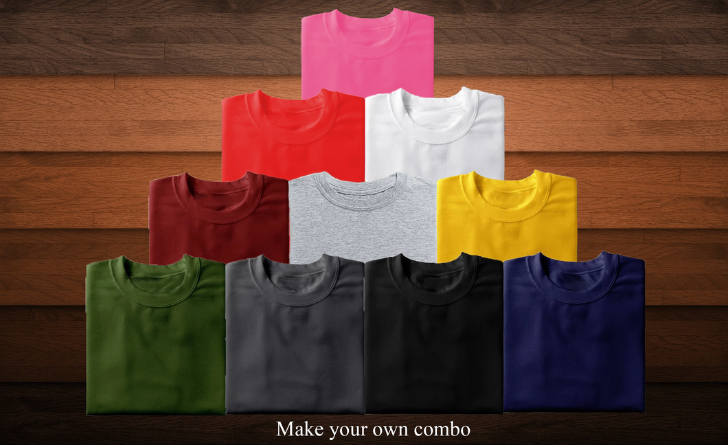 Choose Your Pack Of 2 Combo-Half Sleeves