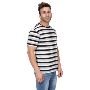 Half Sleeve Multi Colour Stripes For Men
