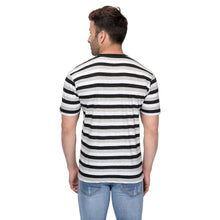 Load image into Gallery viewer, Half Sleeve Multi Colour Stripes For Men