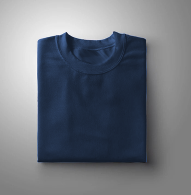 Indigo Plain Solid T-shirt