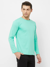 Load image into Gallery viewer, Sky Blue : Maroon : Mint Green- Full Sleeves T-shirts Combo