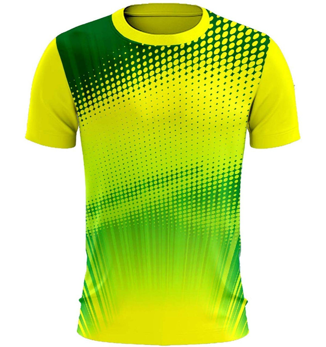 Men's Polyester Printed Jersey