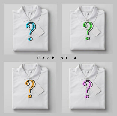 Choose Your Pack Of 4  - Polo T-shirt Combo