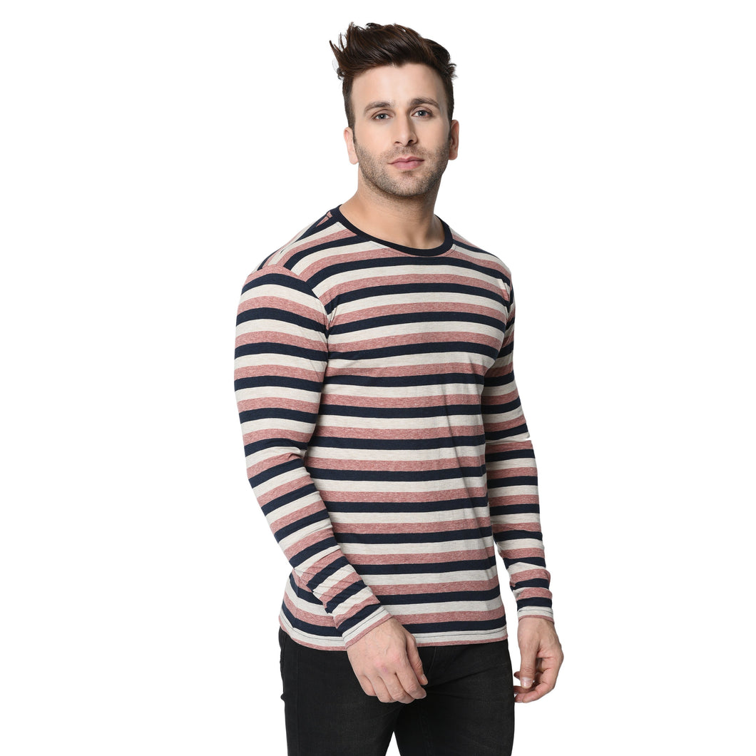 Full Sleeve Multi Colour Stripes For Men