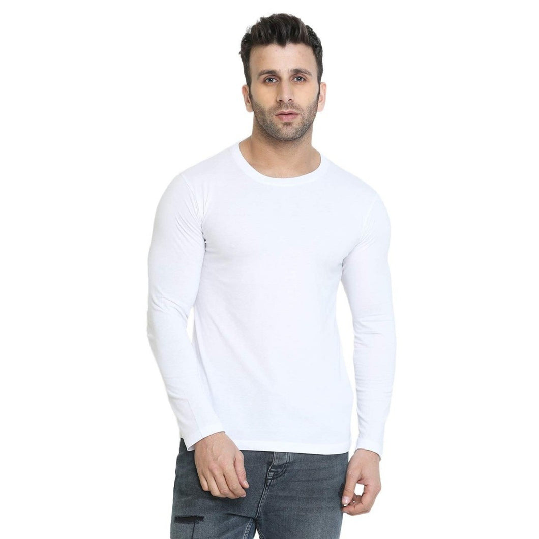 White - Full Sleeves T-shirt