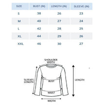 Load image into Gallery viewer, Black : White : Milange Grey - Crew Neck Long Sleeve T-Shirts Combo