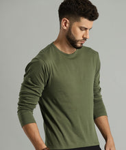 Load image into Gallery viewer, Olive Green - Full Sleeves T-shirt
